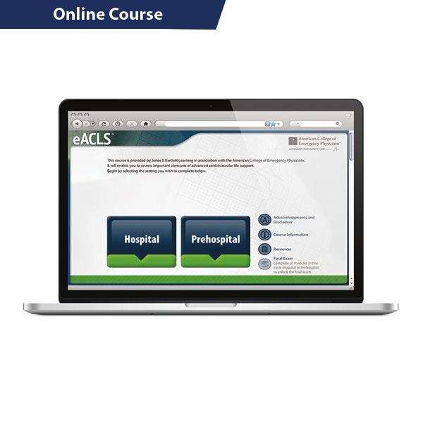 eACLS Advanced Cardiovascular Life Support Online Course Provider